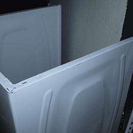 Gabinete Color Blanco Lavadora Whirlpool CR440214