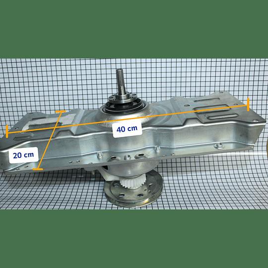 Transmisión cuello bajo con dobles Lavadora Elav 8450 CR440819   Repuestos para Lavadora