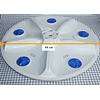 Agitador Plano 5 Mariposas Lavadora Electrolux 30104109021 CR440552 | Repuestos para Lavadora