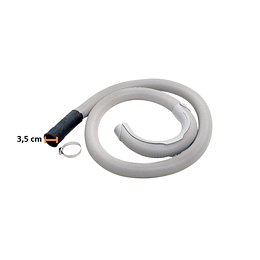 Manguera de desague boca 3,5 cm Lavadora Centrales CR990042
