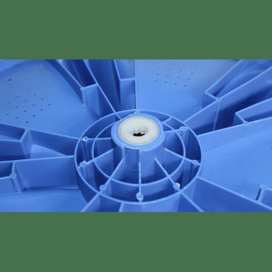 Agitador Plano Azul Genérico Lavadora Electrolux + tornillo CR990044 | Repuestos para Lavadora