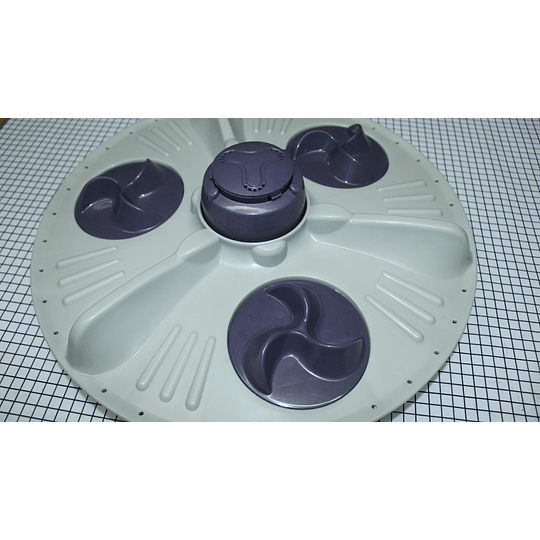 Agitador Plano Grande Génerico 40 cm Lavadora LG  CR440541