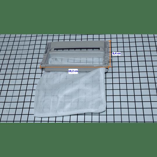 Filtro Atrapamotas grande Malla Genérico Lav LG 5231FA2239N - X CR440022-KIT  KIT DE 2