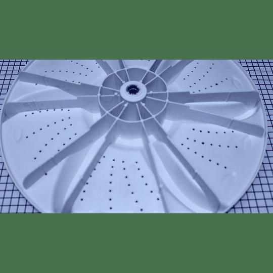 Agitador Sol Plano Grande 38 cm Lavadora Electrolux CR440548 | repuestos para lavadora FOT789