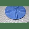 Agitador Plano  Rodete Azul Buje Trasero 40 cm Lavadora Electrolux 70073 CR440542