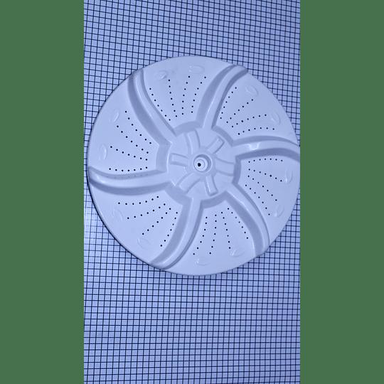Repuestos para lavadora   Agitador Sol Plano Pequeño 33,5 cm Lavadora Electrolux 12138000003531 CR441056