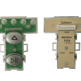 Interruptor Cuadrado Botones Lavadora Mabe 189D2762G016 CR440821
