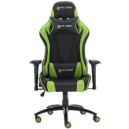 Silla Gamer Hypelegend Evil Green