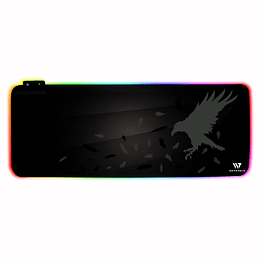 Mousepad gamer Seven Win Crow Nest RGB