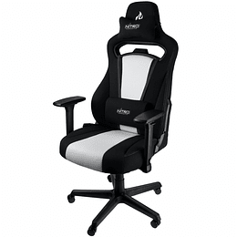 Silla Gamer Nitro E250 White