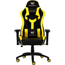 Silla Gamer Seven Win Conquest Yellow