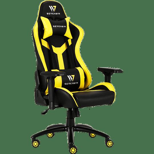 Silla Gamer Seven Win Conquest Yellow