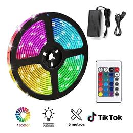 Ultra Cinta Led RGB con control remoto - 5 metros