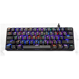 Teclado Mecánico Gamer Hypelegend Rebel Black