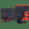 Combo Gamer Redragon 4 en 1 S101-BA