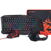 Combo Gamer Redragon 4 en 1 Gaming Essentials S101-BA-1