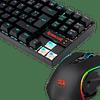 Combo Gamer Redragon Teclado Kumara RGB + Mouse Griffin Gaming Essentials K522RGB