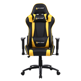 Silla Gamer Hypelegend Hero Yellow