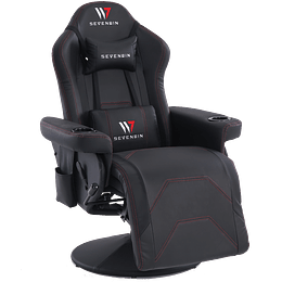 Sillón Gamer Seven Win Bunker Black