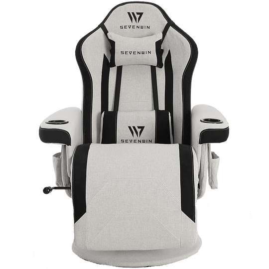 Sillón Gamer Seven Win Bunker Gray