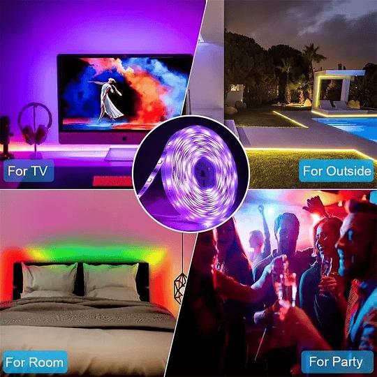 Ultra Cinta Led RGB Wifi con control remoto - 5 metros