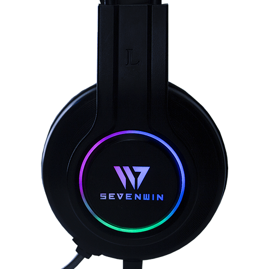 Audifonos Gamer CrowSense Black RGB PS4/PS5/PC