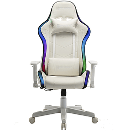 Silla Gamer Hypelegend Intense White RGB