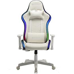 Silla Gamer Hypelegend Intense White RGB