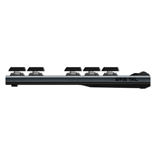 Teclado Gamer Logitech G915 TLK LightSpeed Wireless RGB Carbon