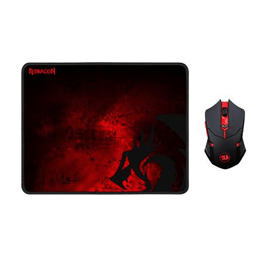Combo Gamer Mouse + Pad Redragon M601WL