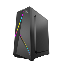 Gabinete Gamer Hypelegend Black RGB