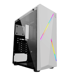 Gabinete Gamer Hypelegend White RGB