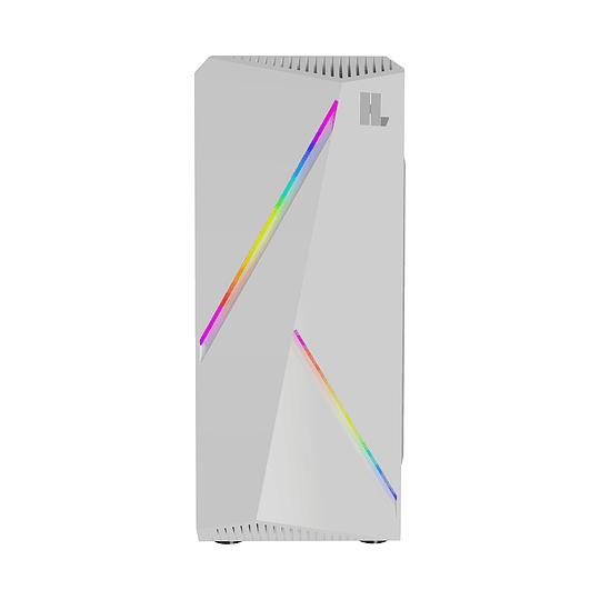 Gabinete Gamer Hypelegend White RGB
