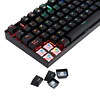 Combo Redragon Teclado Mecánico Mitra RGB SP+ Mouse Griffin K551