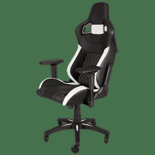 Silla gamer Corsair T1 Race White