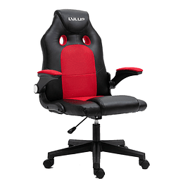 Silla gamer LVL UP LU778 M Rojo/Negro