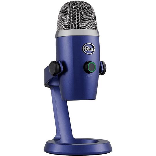 Microfono Blue Yeti Nano Vivid Blue