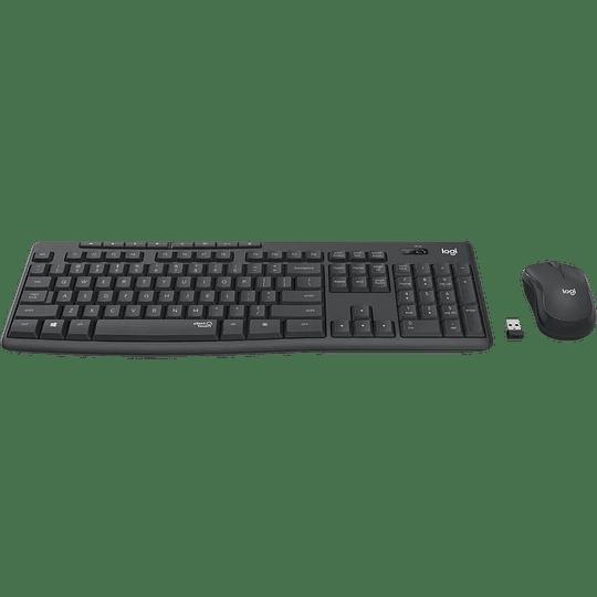 Combo Mouse + teclado Logitech MK295 Silent Wireless