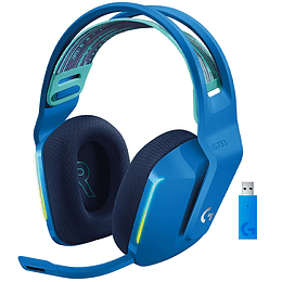 Audifonos Gamer Logitech G733 Lightspeed Wireless RGB BLUE