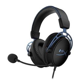 Audífonos Gamer HyperX Cloud Alpha S Blue