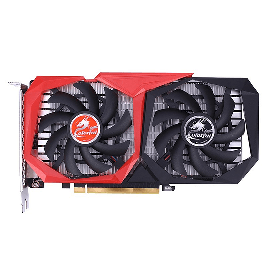 Tarjeta de video Colorful GeForce GTX 1650 NB 4GD6-V