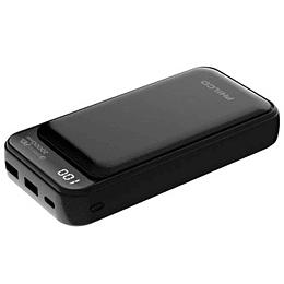 POWERBANK BATERIA PORTATIL 20000 MAH DUAL USB PHILCO