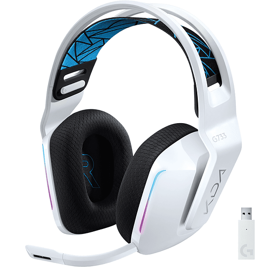 Audifonos Gamer Logitech G733 KDA Edition