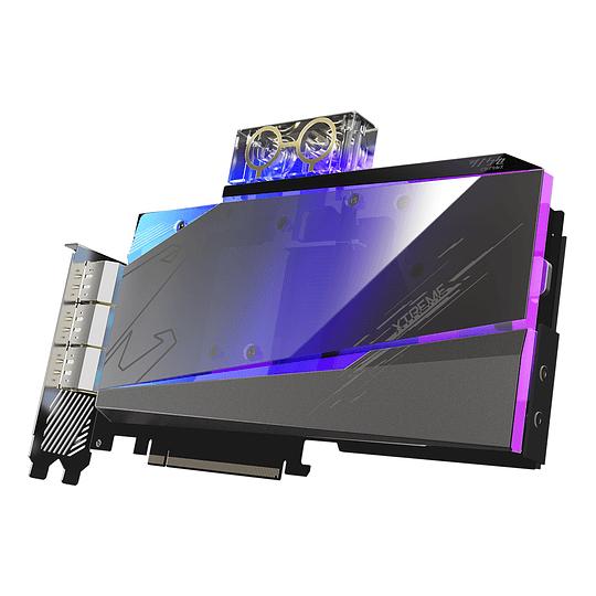 Tarjeta de video AORUS GeForce RTX™ 3090 XTREME WATERFORCE WB 24G