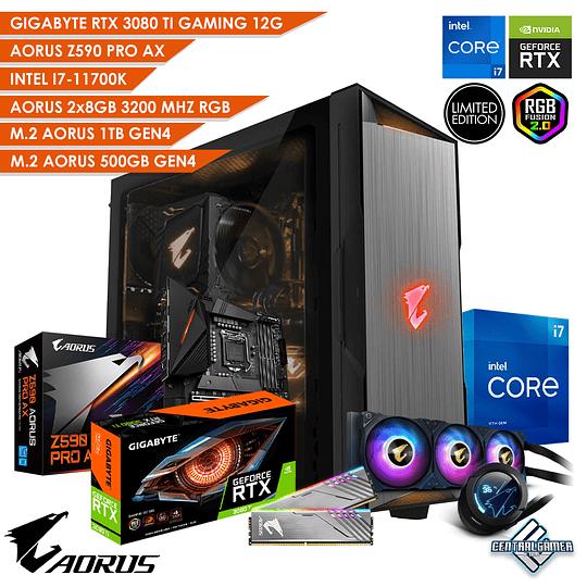 PC Gamer AORUS RTX 3080 TI GAMING / 11700K