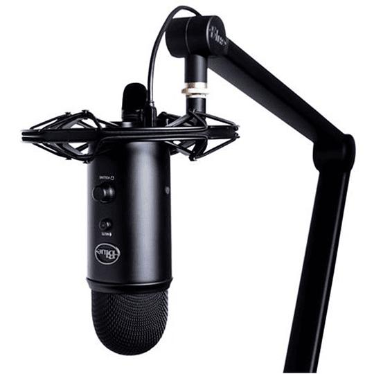 Microfono Streamer Blue Yeticaster