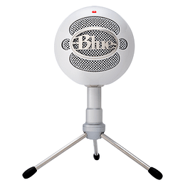 Microfono Blue Snowball Ice White