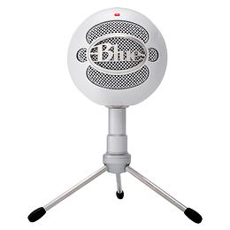 Microfono Blue Snowball Ice White