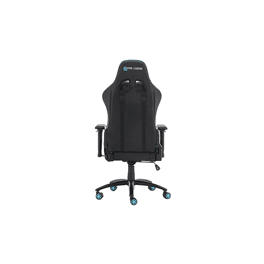 Silla Gamer Hypelegend Evil Light Blue