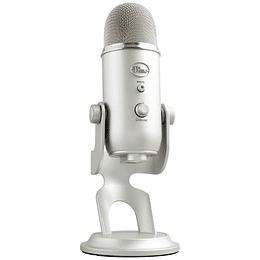 Microfono Blue Yeti Silver
